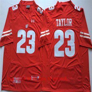 Winsconsin Badgers #23 Jonathan Taylor Jersey